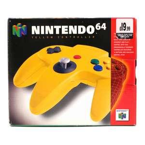 Original Nintendo Controller #gelb NUS-005