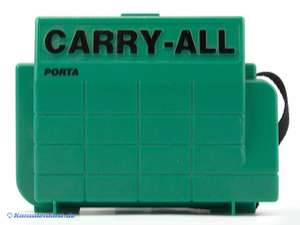 Portable Cary-All Koffer #grün