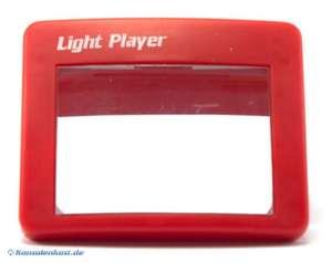 Lupe mit Licht #rot [Dritthersteller]