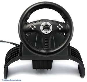 Lenkrad / Racing / Steering Wheel #schwarz SL-4493-SBK [Speed Link]