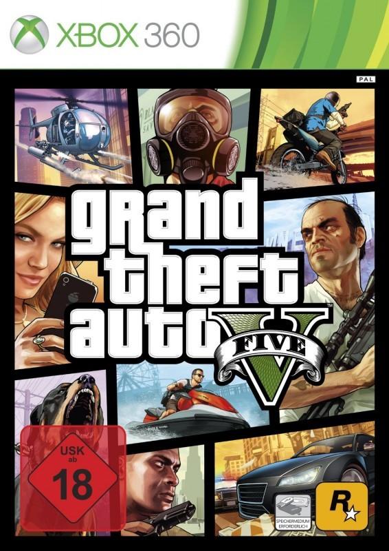 Xbox 360 - Grand Theft Auto V / GTA 5