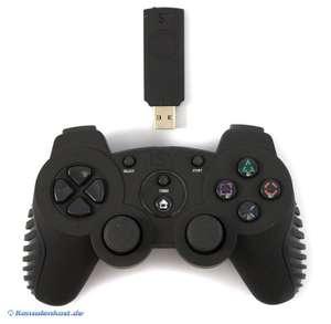 Wireless Controller mit Turbo + Empfänger #schwarz [Isy]