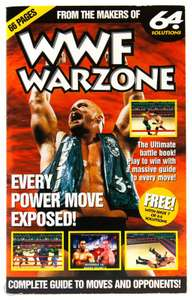 Spieleberater: 64 Solutions WWF Warzone Lösungsbuch / Power Move Guide