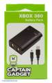 Battery Pack incl. charging cable #black [Captain Gadget]