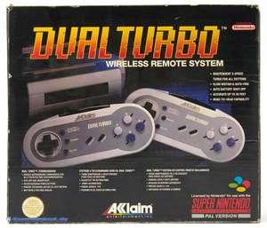 2 Wireless Controller mit Turbo & Slowmotion - Dual Turbo #grau [Acclaim]