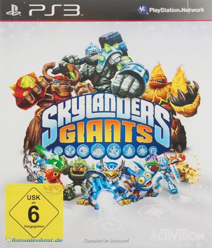 PS3 - Skylanders: Giants