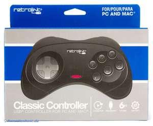 Mega Drive USB Controller #schwarz [retrolink]