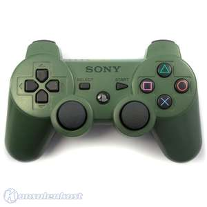 Original DualShock 3 Wireless Controller #grün-schwarz / Jungle-Green [Sony]
