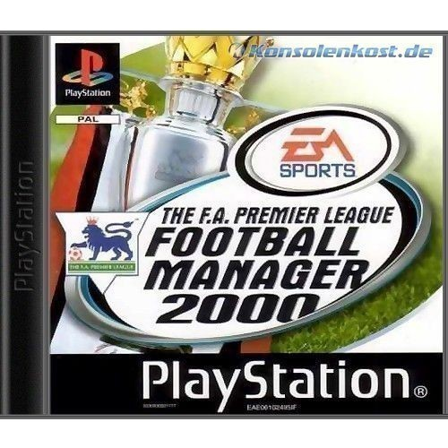Football Manager 2000 - The F.A. Premier League