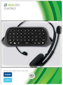Chatpad: Tastatur Messenger Kit + Headset #schwarz