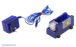 GBA SP PowerDock / Docking Station #blau-transparent [MadCatz]