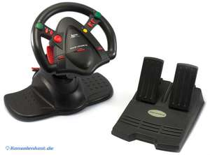 Lenkrad / Racing / Steering Wheel - Race Leader 64 [Guillemot]