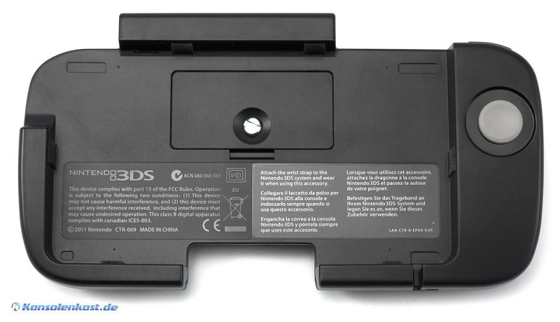 Nintendo 3DS - Original Expansion Slide Pad / Circle Pad Pro / CTR-009
