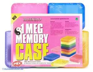 Schutzhüllen / Cases für 5 Memory Cards [Bushido Gameware]