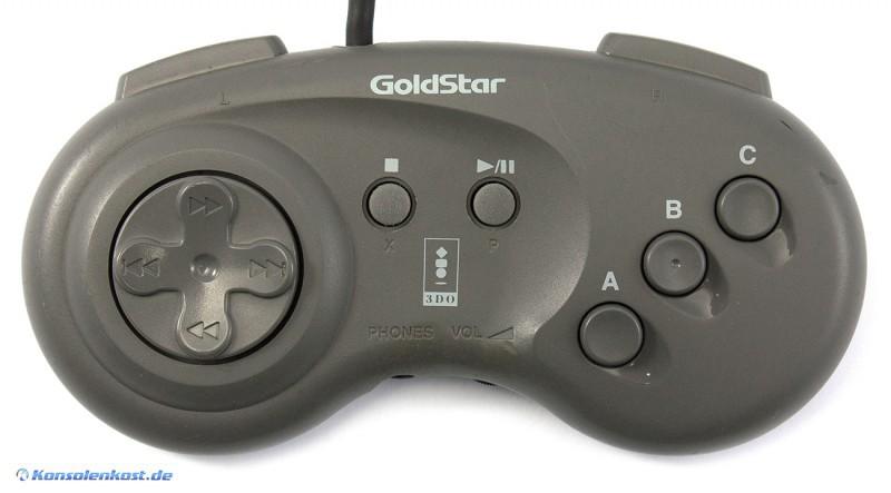 Original Controller / Pad #GPA122P [Goldstar]