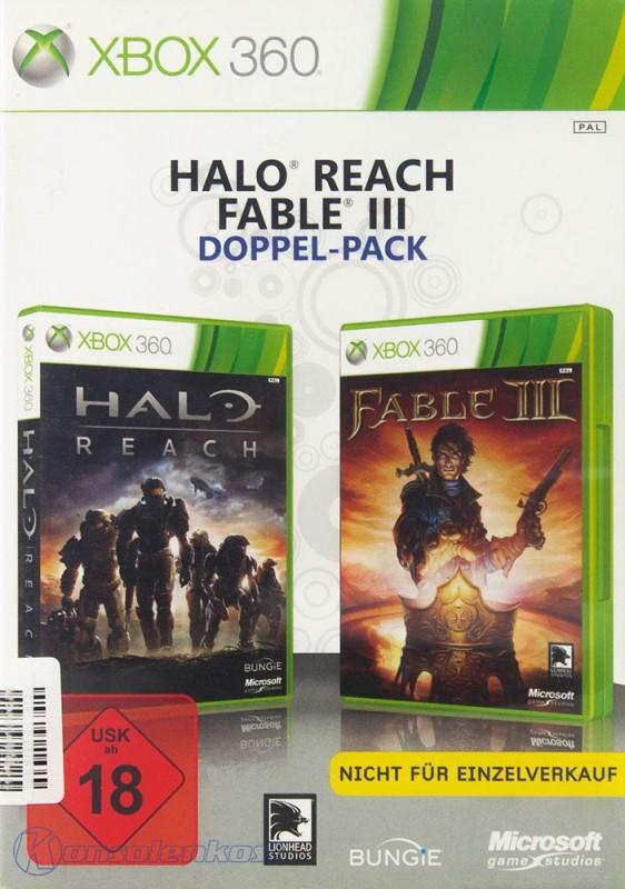 Fable III + Halo: Reach