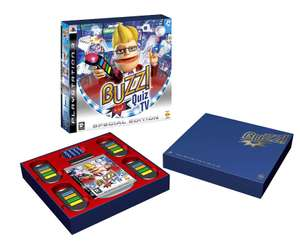 Buzz!: Quiz TV #Special Edition + 4 Wireless Buzzer