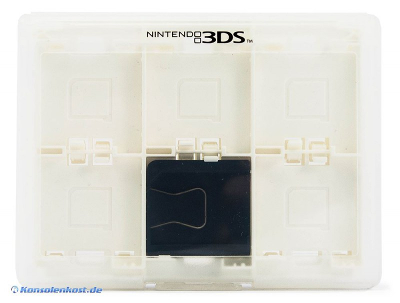 Nintendo 3DS - Original Box für 24 Module #transparent [Nintendo]