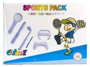 Zubehör-Set: 6 in 1 Sports Pack