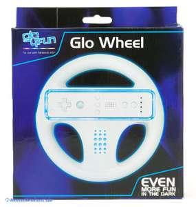 Controller Aufsatz: Lenkrad / Glo Wheel #Leuchtfarbe: blau [Glo4Fun]