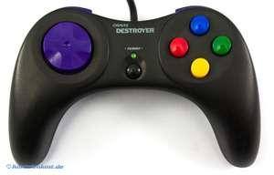Controller / Pad #schwarz Destroyer [Gravis]