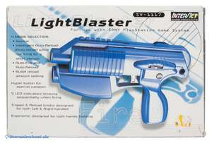 Light Gun / Pistole / Phaser #blau Light Blaster / SV-1117 [Interact]