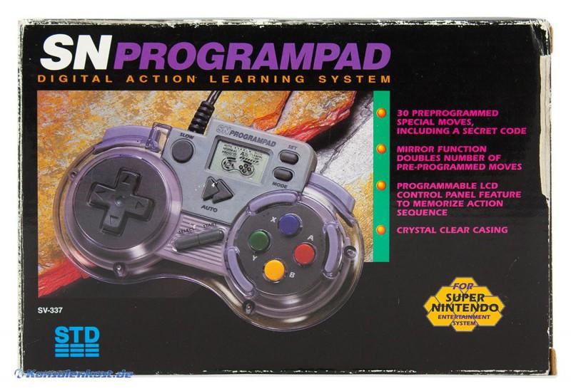 Controller / Pad #transparent SN Programpad / SV-337 [QJ]