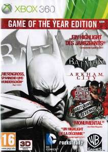 Batman: Arkham City #Game of the Year Edition