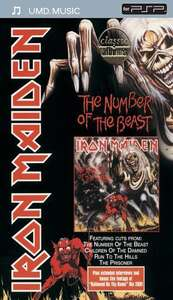 UMD Music - Iron Maiden: The Number of the Beast