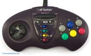 6 Button Controller / Pad mit Turbo #schwarz Megapad V MX-611 [Saitek]