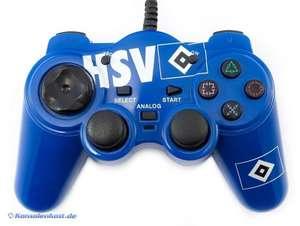 Controller / Pad mit Turbo & Slowmotion #blau HSV Logo