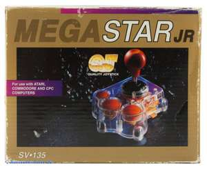 Controller / Joystick #transparent Mega Star Jr. / SV-135 [QuickJoy]