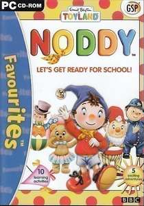 Noddy Lets Get Ready for School