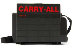 Portable Carry-All Koffer #schwarz
