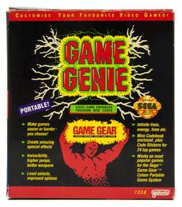 Game Genie / Cheatmodul / Schummelmodul [Codemasters]