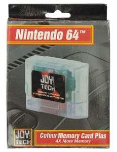 Memory Card / Memorycard / Speicherkarte / Controller Pak #transparent [Joy Tech]