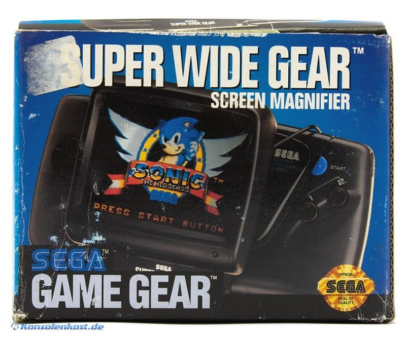 Game Gear - Original Super Wide Gear Bildschirmlupe [Sega]