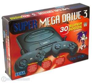 Konsole MD3 + 30 Spiele + 2 Original Controller + Zubehör