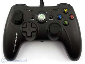 Controller / Pad #schwarz GPX Light Black Back Edition [Thrustmaster]