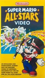 VHS Video Kassette: Super Mario All-Stars -Tipps & Tricks