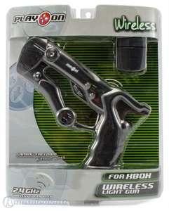 Wireless Light Gun / Pistole / Phaser / Blaster #schwarz [PlayOn]