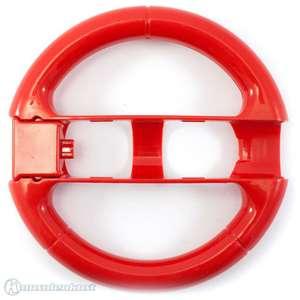 Controller Aufsatz: Lenkrad / Racing Wheel #rot [Dritthersteller]