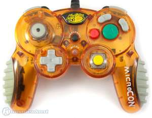 Controller / Pad #orange-transparent MicroCon [MadCatz]
