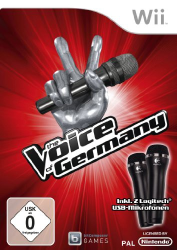 The Voice of Germany 1 + 2 Mikrofone