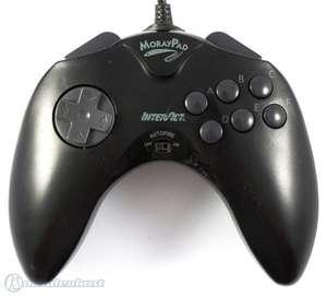 Controller / Pad mit Autofire MorayPad / SV-228 #schwarz [Interact]