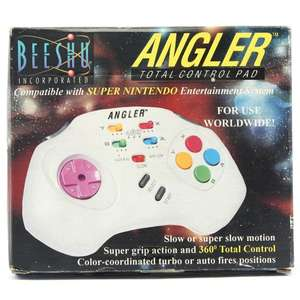 Controller / Pad mit Turbo & Slowmotion #weiß Angler Total Control Pad [Beeshu]