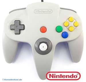 Original Nintendo Controller #grau-blau NUS-005