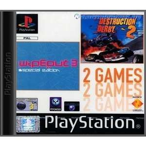 2 in 1 - WipeOut 3: Special Edition & Destruction Derby 2