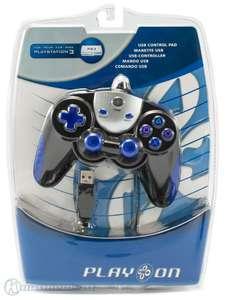 Controller / Pad Wired / funktioniert nur bis PS3 Firmware 3.50 #schwarz [PlayOn]