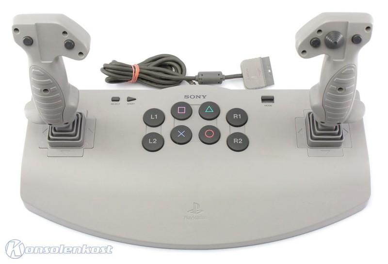 Controller / Arcade Stick / Analog Joystick #grau / SCPH-1110